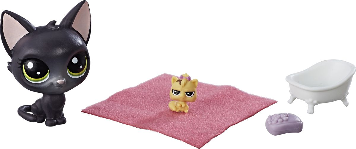 Zakazat.ru Littlest Pet Shop Набор фигурок Jade Catkin & Kittylina Scrapper