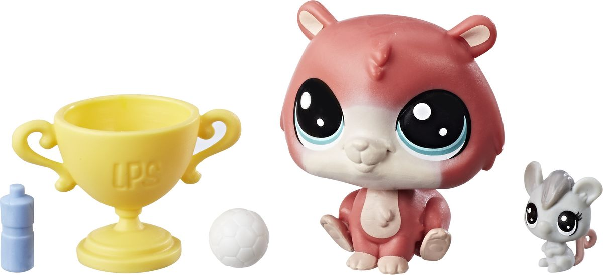 Littlest Pet Shop Набор фигурок Trip Hamston & Molly Mouseby