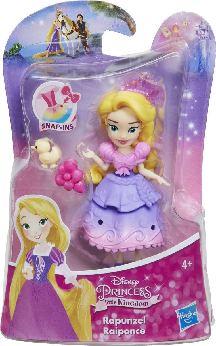 Disney PrincessМини-кукла Little Kingdom Rapunzel