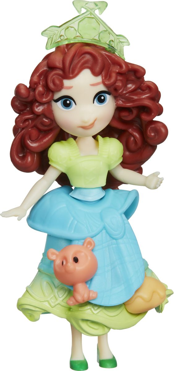 Disney Princess Мини-кукла Little Kingdom Merida кукла мини анна disney princess