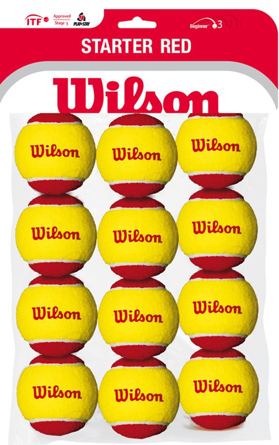 Мячи для тенниса Wilson Starter Red Tball 12 Pack