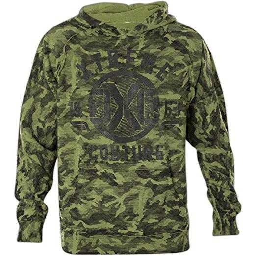 Толстовка мужская Xtreme Couture Regiment, цвет: хаки. X1690. Размер XL (52) бейсболка affliction affliction af405cuaojw1