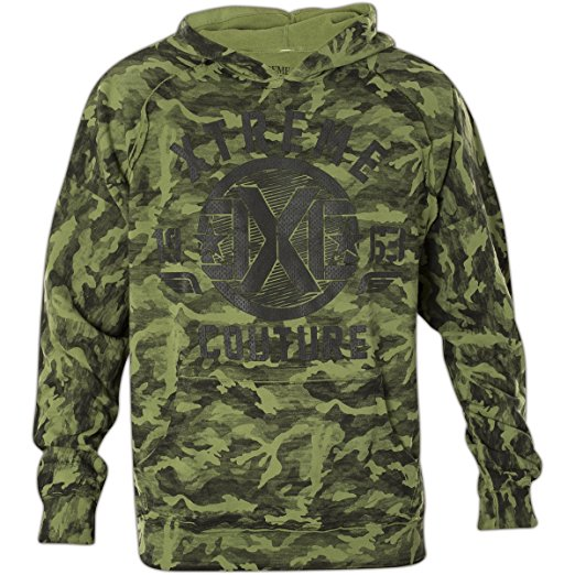 Толстовка мужская Xtreme Couture Regiment, цвет: хаки. X1690. Размер XL (52)