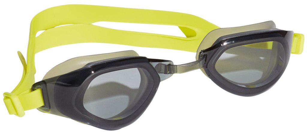 Очки для плавания Adidas Persistar Fit, цвет: черный, желтыйBR1084Удобные плавательные очки с защитой от УФ-лучей.Во время длительных тренировок в бассейне нужны очки, которые можно надеть и забыть про них. Эта модель с цельной оправой и широким углом обзора как раз из таких. Эластичная носовая перегородка и регулируемый ремешок для надежной посадки.Удобные очки с цельной оправой. Широкий угол обзора. Регулируемая носовая перегородка. Регулируемый ремешок с пряжкой на затылке. Защита от УФ-лучей; специальная обработка для защиты от запотевания. Модель для восстановительных тренировок: для пловцов-любителей, которые предпочитают стиль и комфорт.