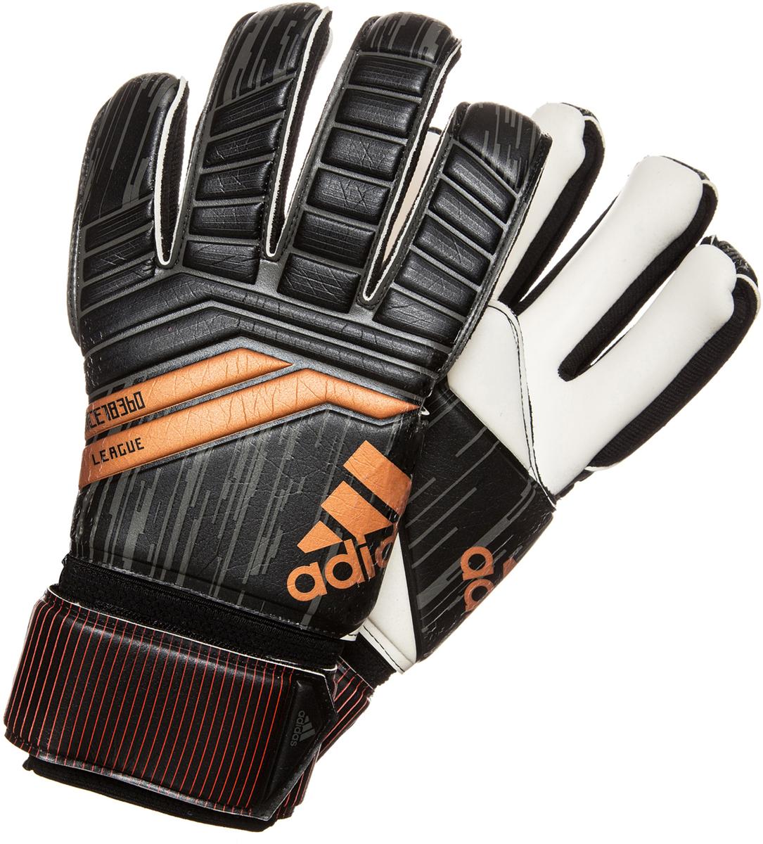 Вратарские перчатки Adidas Predator League отличный выбор для лучших вратарей.  Ладонь покрыта материалом Evo Zone Tech для удобной посадки.  Крой с внутренними швами облегает руку, так что перчатки подойдут футболистам даже с тонкими пальцами. Эластичный манжет комфортно облегает запястье и поддерживает его.   Ремешок даст вам возможность плотно закрепить перчатки на вашей руке.   Вратарские перчатки Adidas Predator League смогут удержать даже самые сильные удары.