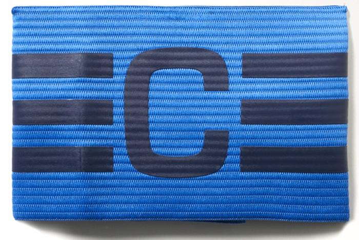 Повязка капитанская Adidas  FB Capt Armband , цвет: синий - Аксессуары для командных видов спорта