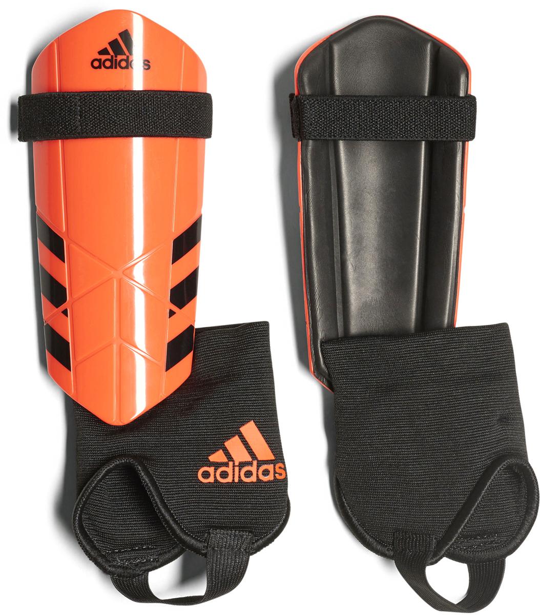 Щитки футбольные Adidas  Ghost Youth , цвет: оранжевый. Размер M - Командные виды спорта