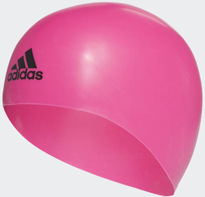 Шапочка для плавания Adidas Silicone 3D Cap, цвет: розовый. Размер LCV7597Шапочка Adidas Silicone 3D Cap анатомической формы для соревнований. Плавательная шапочка выполнена из 100% премиального силикона. Идеально сидит на голове благодаря специальному эргономичному дизайну. Материал препятствует образованию складок. Различная плотность обеспечивает оптимальную обтекаемость и уменьшает сопротивление воды. Необходимый аксессуар для каждого спортсмена.Не мнется и не собирается в складки благодаря анатомической форме. Эргономичный дизайн для максимального комфорта. Разная плотность материала для большей обтекаемости. Идеальная посадка благодаря заданной форме. 100% силикон.