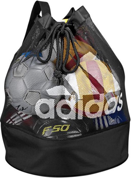 Сумка для мячей Adidas FB Ballnet, цвет: черный насос для мячей ручной adidas pump g70910