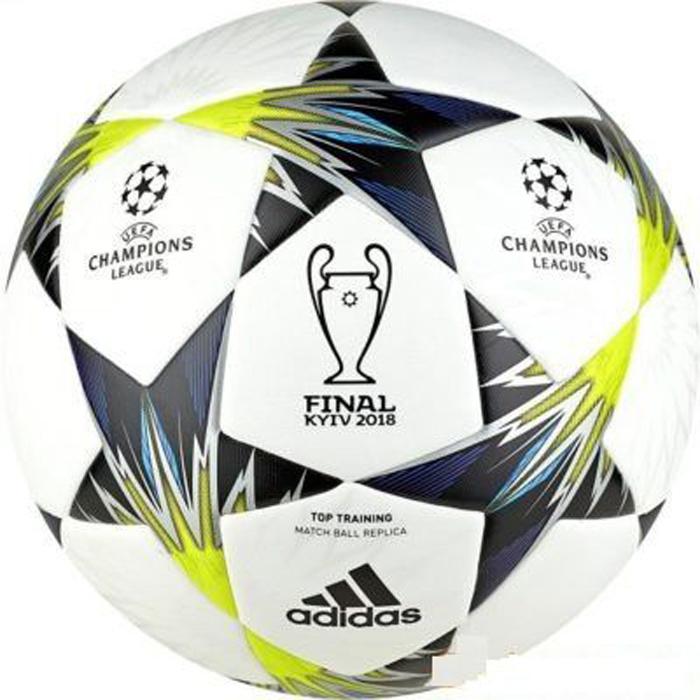 Мяч футбольный Adidas Finale Kiev TT, цвет: черный, белый, желтый. Размер 5 викторина чемпионов человеческое тело время играть clever