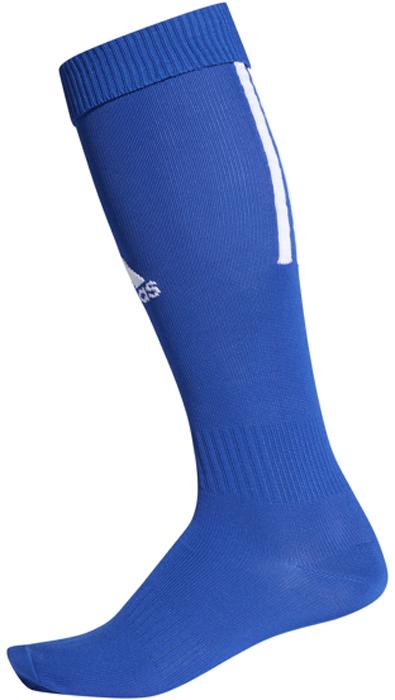 Гетры футбольные adidas Santos Sock 18, цвет: синий. CV8095. Размер 43/45CV8095Гетры футбольной коллекции всемирно известного бренда adidas. Гетры выполнены из высококачественного материала, спереди оформлены логотипом бренда, сзади – тремя полосками.