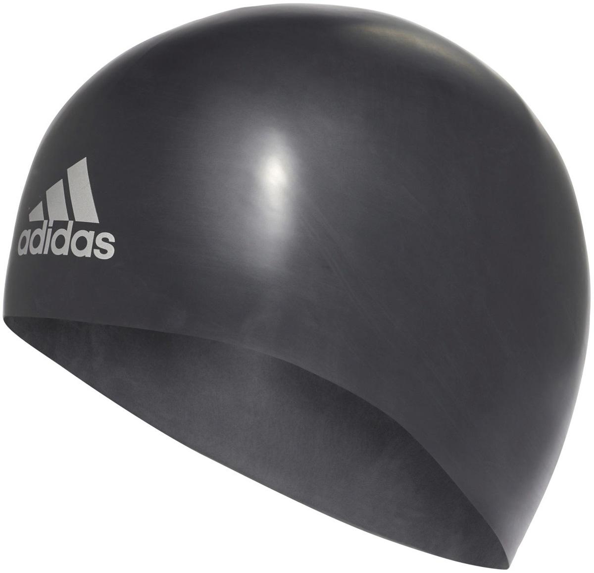 Шапочка для плавания Adidas Silicone 3D Cap, цвет: черный. Размер MM34112Шапочка анатомической формы для соревнований. Плавательная шапочка из 100% премиального силикона. Идеально сидит на голове благодаря специальному эргономичному дизайну. Материал препятствует образованию складок. Различная плотность обеспечивает оптимальную обтекаемость и уменьшает сопротивление воды. Необходимый аксессуар для каждого спортсмена.Не мнется и не собирается в складки благодаря анатомической форме. Эргономичный дизайн для максимального комфорта. Разная плотность материала для большей обтекаемости. Идеальная посадка благодаря заданной форме. 100% силикон.