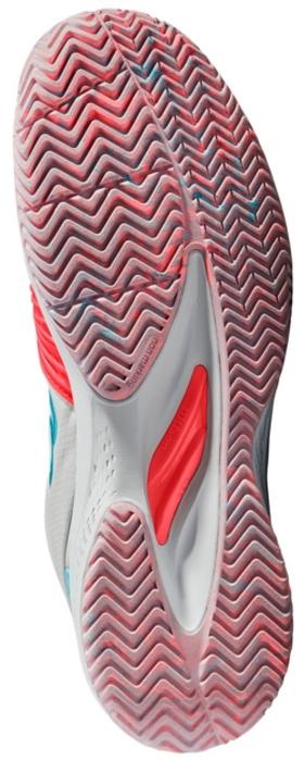 Кроссовки для тенниса женские Wilson Kaos 2. 0 W, цвет:  красный.  WRS323860.  Размер 4 (36) Wilson