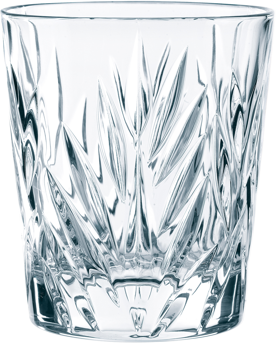 """Набор стаканов Nachtmann """"Imperial"""", выполненный из прозрачного бессвинцового хрусталя с  узором, состоит из четырех высоких стаканов. Рельефная поверхность стакана приятно  ощущается в руке. Такой набор подойдет и для каждодневного использования и украсит  праздничный стол."""