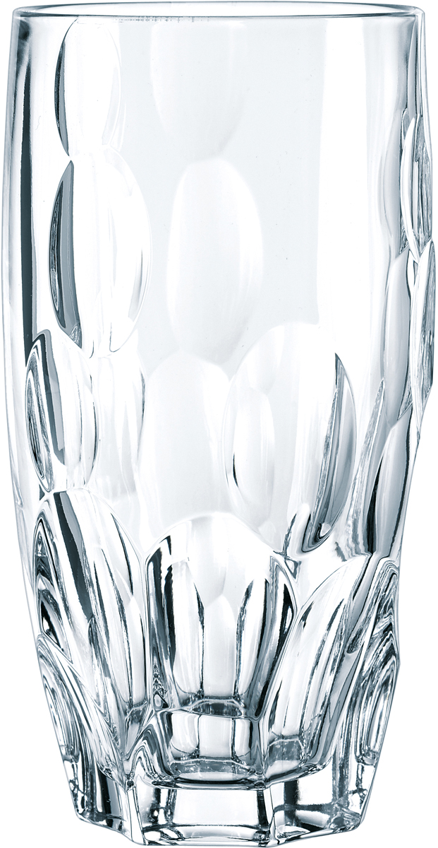 Набор стаканов Nachtmann Sphere, 385 мл, 4 шт93627Набор Nachtmann Sphere, выполненный из прозрачного бессвинцового хрусталя с узоромсфера, состоит из четырех высоких стаканов коллекции Sphere. Рельефная поверхностьстакана приятно ощущается в руке. Такой набор подойдет и для каждодневного использования иукрасит праздничный стол.