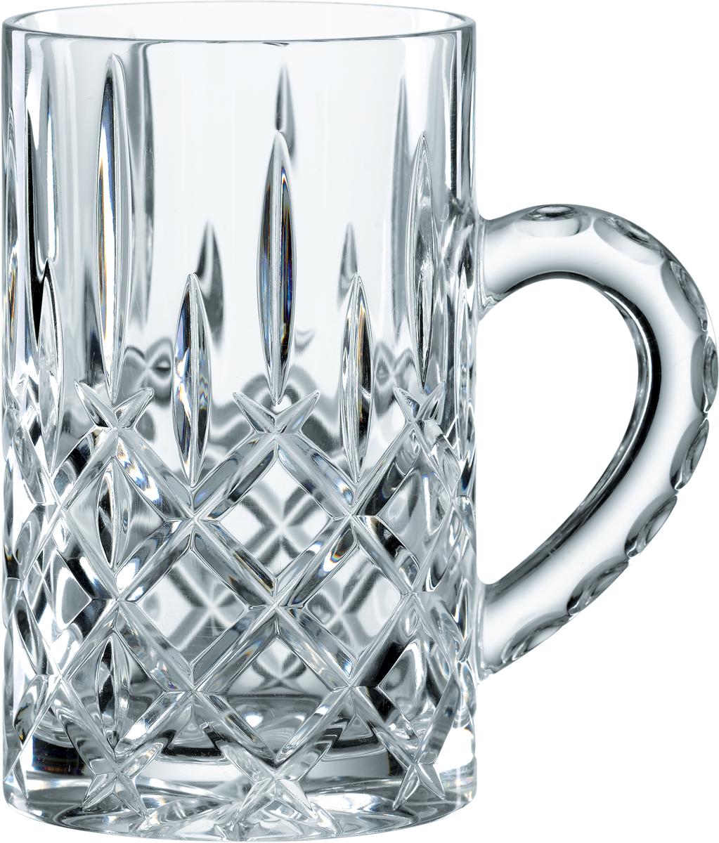 """Набор кружек Nachtmann """"Noblesse"""", выполненный из прозрачного бессвинцового хрусталя с  узором, привлекает внимание классическим сдержанным дизайном и идеально подходит для  многих напитков. Изысканный хрусталь послужит украшением бара и будет великолепно  смотреться на праздничном столе."""