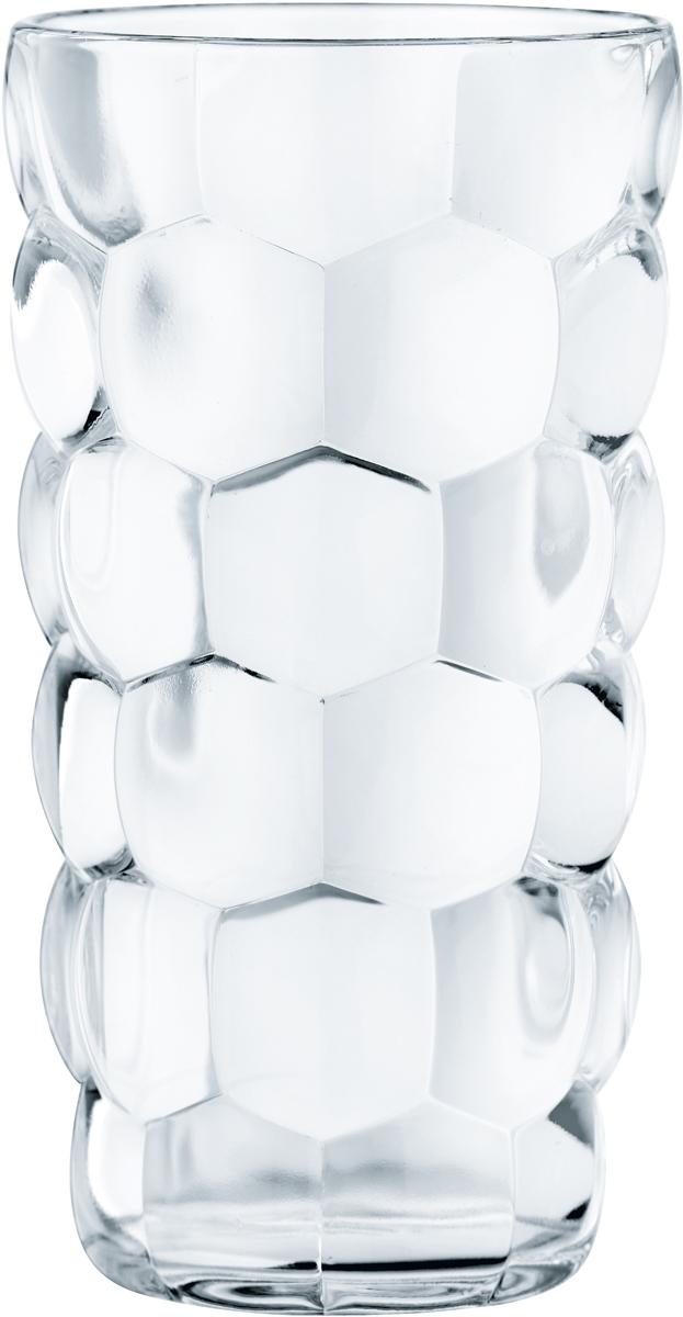 Набор стаканов Nachtmann Bubbles, 390 мл, 4 шт99532Набор стаканов Nachtmann Bubbles, выполненный из прозрачного бессвинцового хрусталя сузором пузырьки, состоит из четырех стаканов. Рельефная поверхность стакана приятноощущается в руке. Такой набор подойдет и для каждодневного использования и украситпраздничный стол.