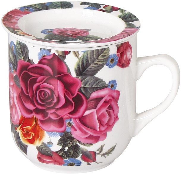 Кружка заварочная Olaff Mug Cover, с ситечком, 350 мл. CM-MSCM-033 кружка olaff 112 08031