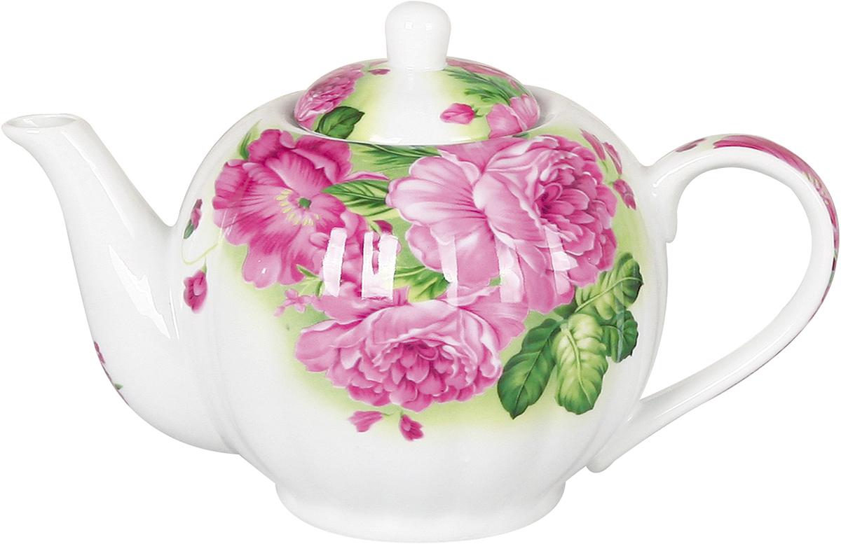Чайник заварочный Olaff Teapot, 1 л. CM-TP-031CM-TP-031Заварочный чайник Olaff Teapot поможет вам в приготовлении вкусного и ароматного чая, а также станет украшением вашей кухни. Он изготовлен из фарфора и оформлен красочным изображением. Нежный рисунок придает чайнику особый шарм, чайник удобен в использовании и понравится каждому. Такой заварочный чайник станет приятным и практичным подарком на любой праздник.