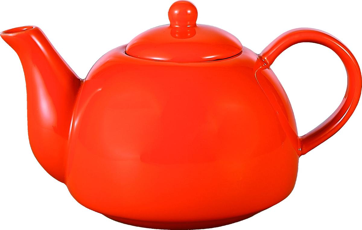 Чайник заварочный Elrington Глазурь, 750 мл. FJH-090719-A154FJH-090719-A154Глазурь. Оранжевый, ЧАЙНИКИ, чайник 750мл, упаковка - цвет.бокс