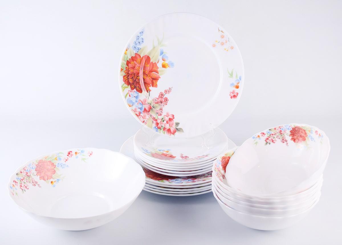 Набор столовой посуды Olaff Наранга, 19 предметов дрель калибр дэ 680еру