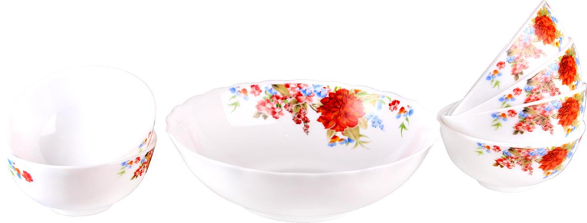 Набор столовой посуды Olaff Наранга, 7 предметов supra набор посуды из 5 предметов