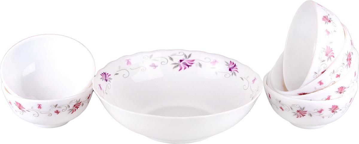 Набор столовой посуды Olaff Эстелла, 7 предметов supra набор посуды из 5 предметов