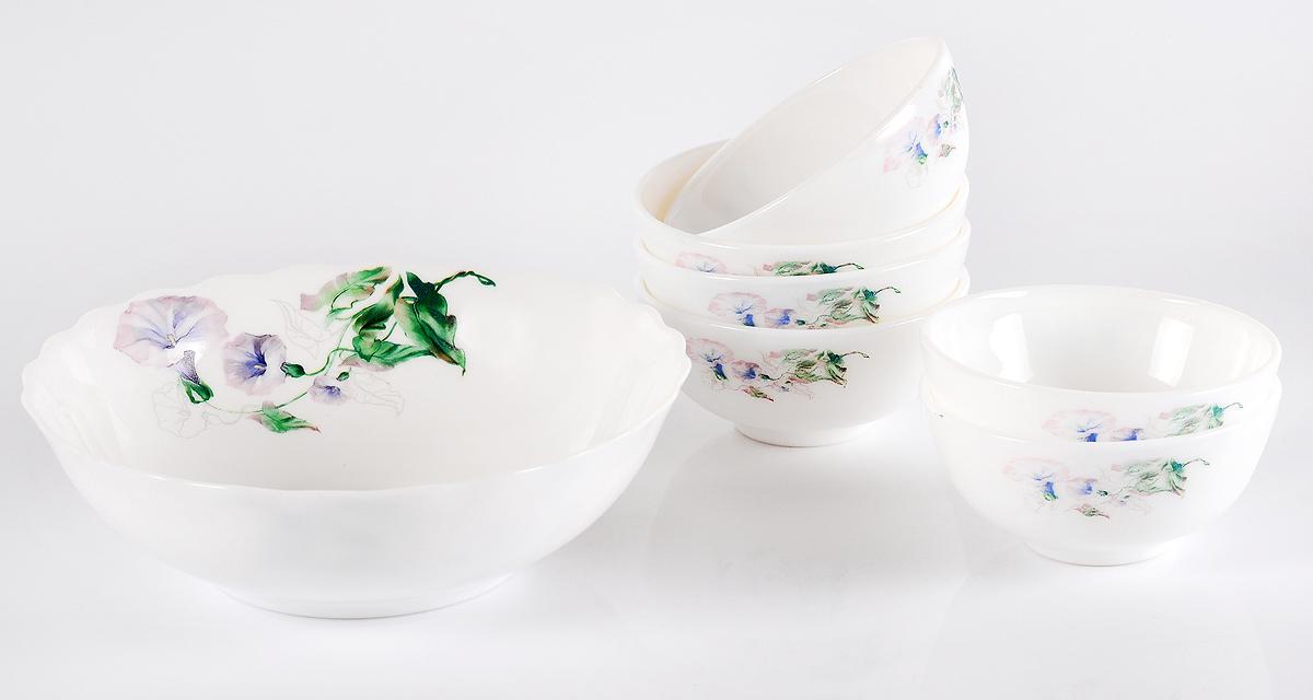 Набор столовой посуды Olaff Скарлет, 7 предметов набор посуды эмаль элеонора 7 предметов