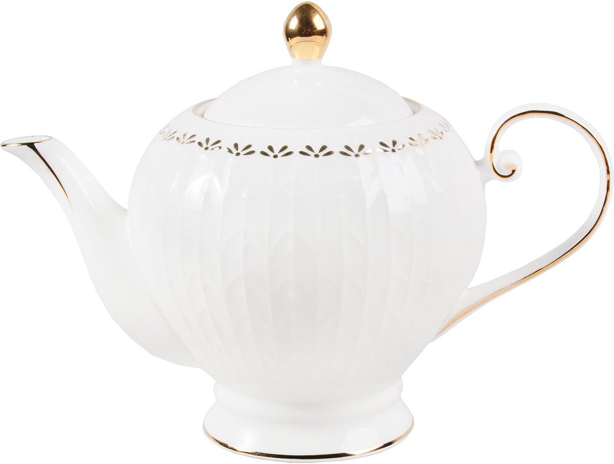 """Заварочный чайник Olaff """"Сказка"""" поможет вам в приготовлении вкусного и ароматного чая, а также станет украшением вашей кухни. Он изготовлен из фарфора и оформлен красочным изображением. Нежные """"лепестки"""" придают чайнику особый шарм, чайник удобен в использовании и понравится каждому.  Такой заварочный чайник станет приятным и практичным подарком на любой праздник."""