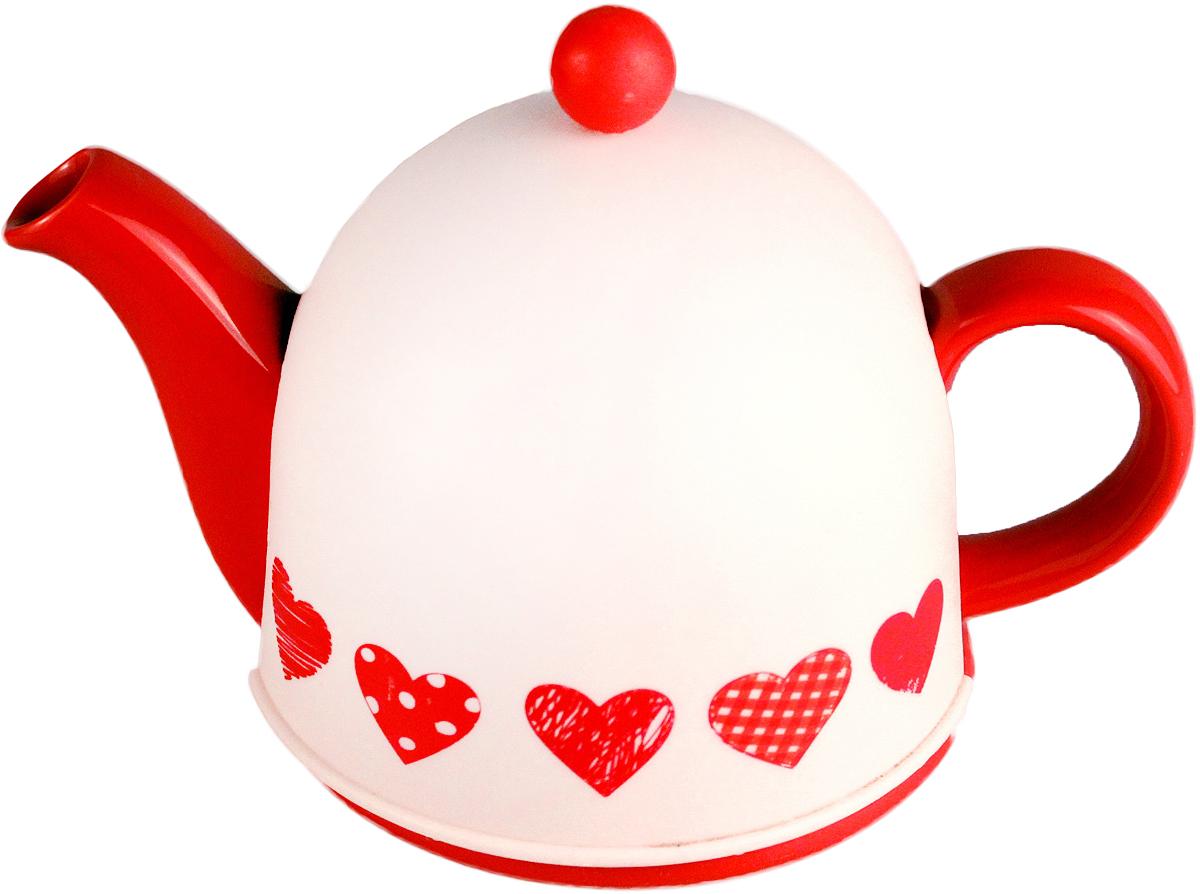 Чайник заварочный Elrington Домик, 800 мл. SFYT027L-18SFYT027L-18Заварочный чайник Elrington Домик изготовлен из высококачественной керамики с металлическим фильтром, также есть пластиковая крышка для сохранения температуры. Изделие прекрасно подходит для заваривания вкусного и ароматного чая, а также травяных настоев. Красочный дизайн сделает чайник настоящим украшением стола.