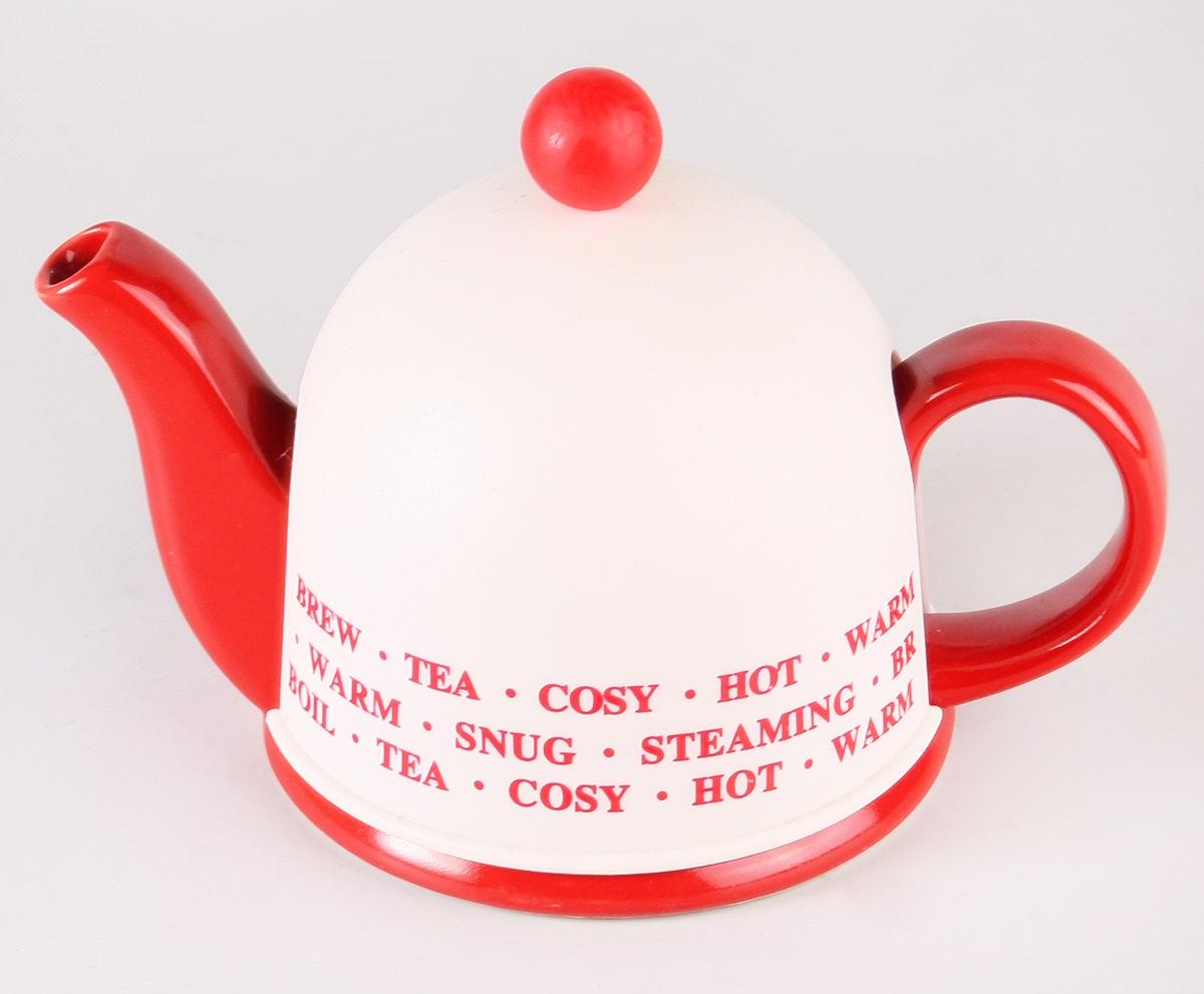 """Заварочный чайник Elrington """"Домик"""" изготовлен из высококачественной керамики с металлическим фильтром, также есть пластиковая крышка для сохранения температуры. Изделие прекрасно подходит для заваривания вкусного и ароматного чая, а также травяных настоев. Красочный дизайн сделает чайник настоящим украшением стола."""