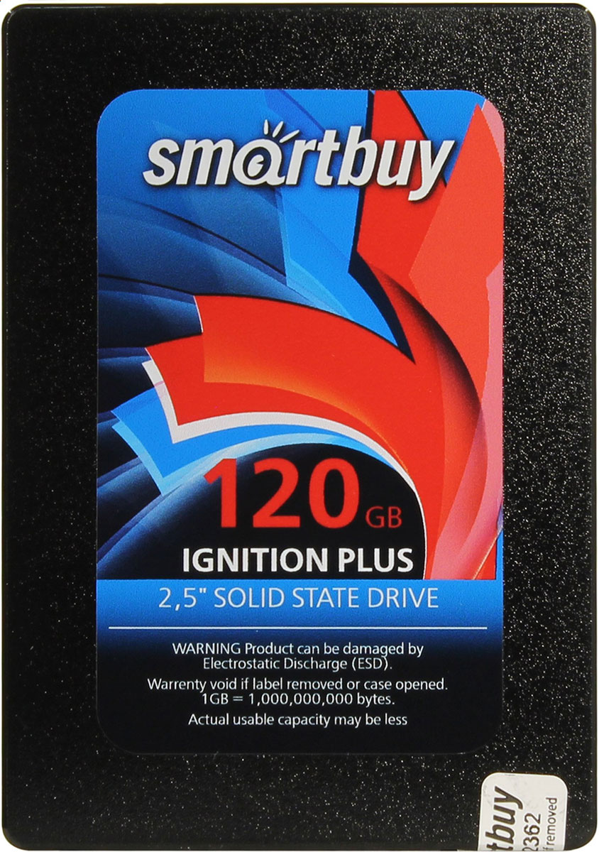 SmartBuy Ignition Plus 120GB SSD-накопитель (SB120GB-IGNP-25SAT3)