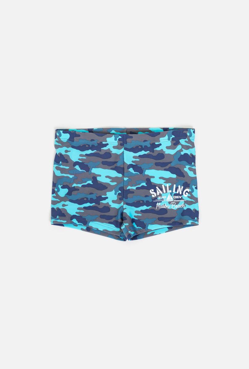 Купальные плавки для мальчика infinity KIDS Bin, цвет: синий. 32124730006_8000. Размер 122/128 цена