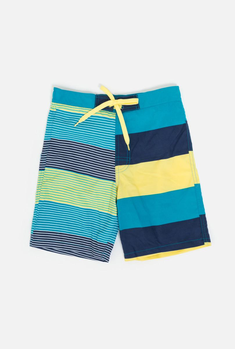 Купальные шорты для мальчика infinity KIDS Punk, цвет: синий. 32114750005_8000. Размер 158/164 цена