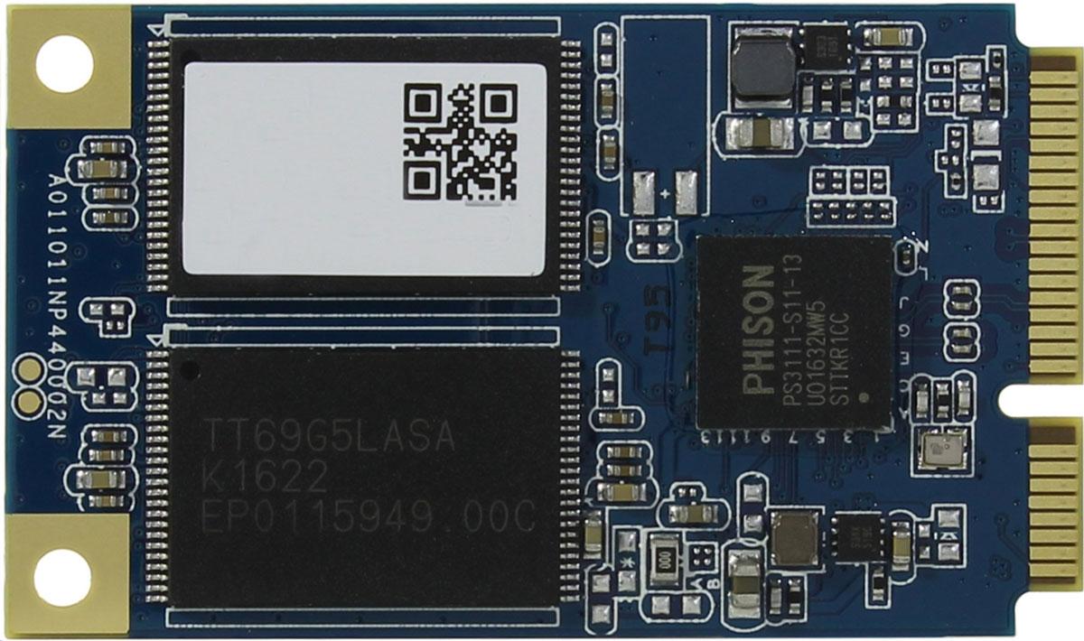 SmartBuy mSATA S11 256GB SSD-накопитель (SB256GB-S11T-MSAT3)SB256GB-S11T-MSAT3Твердотельный накопитель с малым тепловыделением Smartbuy mSATA S11 представляет собойвысокопроизводительное и энергоэффективное решение для хранения данных, позволяющие повыситьпроизводительность работы домашних компьютеров и ноутбуков. SSD-накопитель не содержит подвижныхмеханических частей, что гарантирует бесшумную работу и устойчивость к вибрациям. В качестве внешнегоинтерфейса используется mSATA.