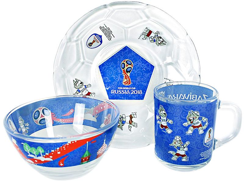 Набор для завтрака FIFA Забивака - Чемпионат мира 2018, 3 предмета игра для ps3 fifa 17