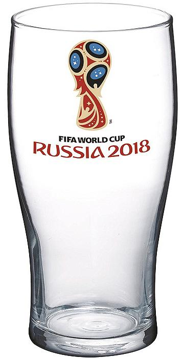Стакан с изображением эмблемы чемпионата мира по футболу 2018. Станет отличным подарком близким, друзьям или просто коллегам по работе. Узор на стекле стакана оформлен в стиле мяча - понравиться даже самым требовательным болельщикам футбола.
