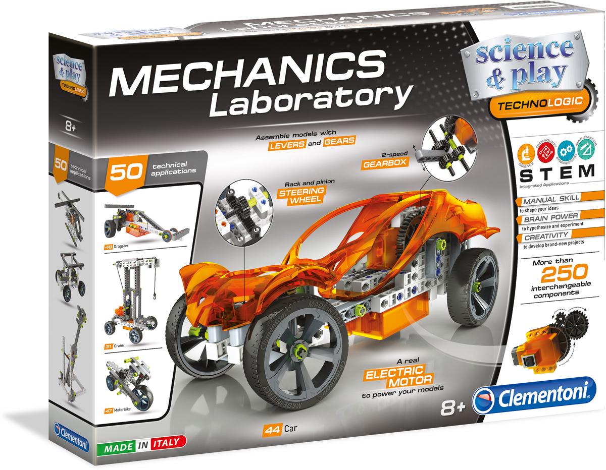 Clementoni Конструктор электромеханический Большая лаборатория механики