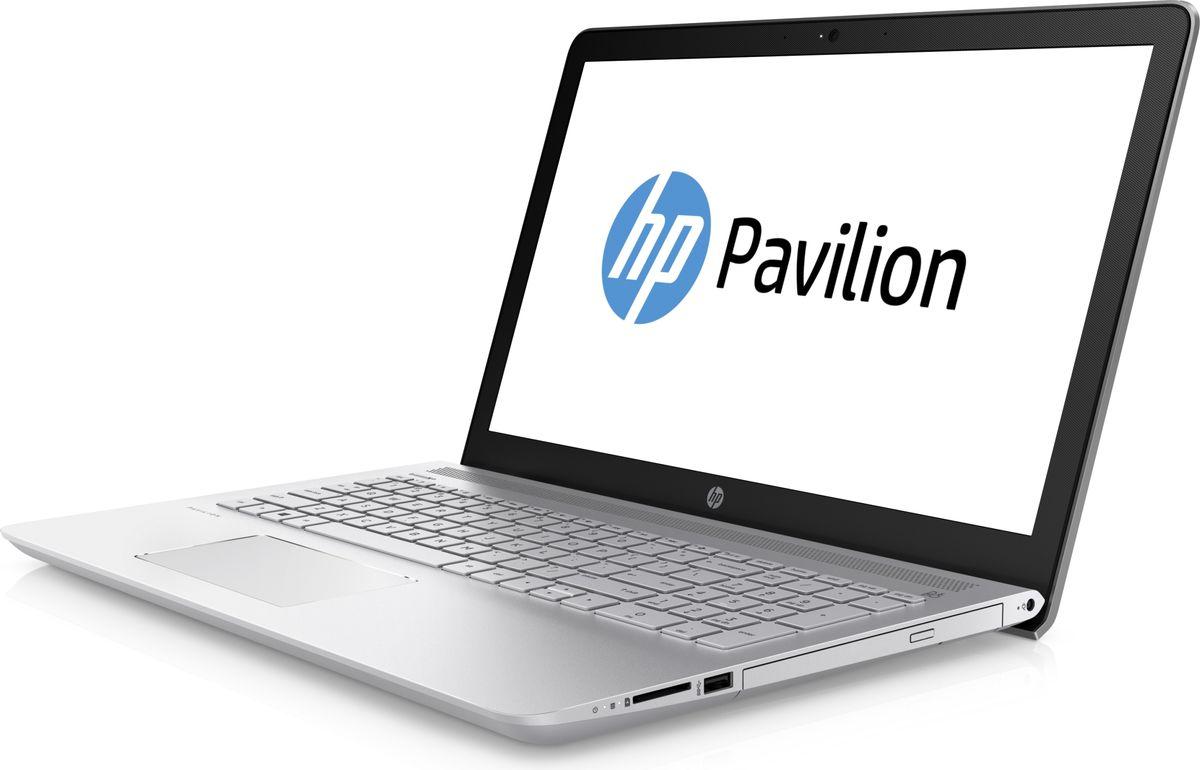 HP Pavilion 15-cc102ur, Mineral Silver (2PN15EA)512791Ноутбук HP Pavilion 15-cc102ur сочетает все преимущества настольного ПК в компактном корпусе. Потрясающий звук и четкий Full HD дисплей - это лишь часть тех преимуществ, которые оставляют незабываемые впечатления от использования этого компьютера.Используйте по максимуму весь функционал Windows на кристально чистом экране с качеством Full HD, оптимизированном для Windows 10. Четкое изображение, с которым вы не упустите ни одну деталь - даже при плохом освещении. Наслаждайтесь живым общением благодаря веб-камере HP Wide Vision HD.С помощью производительного процессора от Intel можно выполнять любые задачи. Создавайте великолепные визуальные материалы, не замедляя работу ноутбука, благодаря дискретной графической карте NVIDIA GeForce 940MX. Благодаря модулю беспроводной связи с сертификацией Wi-Fi общаться с коллегами по Интернету и электронной почте можно не только в офисе, но и в любом другом месте с точкой доступа.Встроенные динамики обеспечивают превосходное качество звучания. С помощью разъема HDMI можно подключить ноутбук к большому HD-монитору, что особенно удобно для показа презентаций.Точные характеристики зависят от модификации.Ноутбук сертифицирован EAC и имеет русифицированную клавиатуру и Руководство пользователя