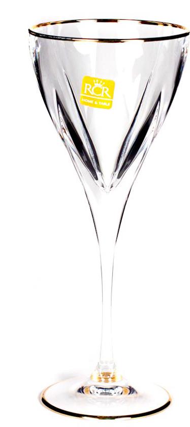 Набор бокалов для вина RCR Модус, 190 мл, 6 штG-232580Набор бокалов для вина RCR Модус состоит из шести бокалов, изготовленных из высококачественного хрустального стекла. Бокалы имеют изысканный внешний вид и придутся по вкусу ценителям классики.RCR Cristalleria Italiana - известная во всем мире итальянская марка, которая выпускает предметы для сервировки стола и подарочные изделия из хрусталя. Как ни странно, RCR свою деятельность начинала еще с ремесленного производства, что сказывается на глубоких знаниях хрусталя, любви к этому материалу и мастерству изделий из этого материала.