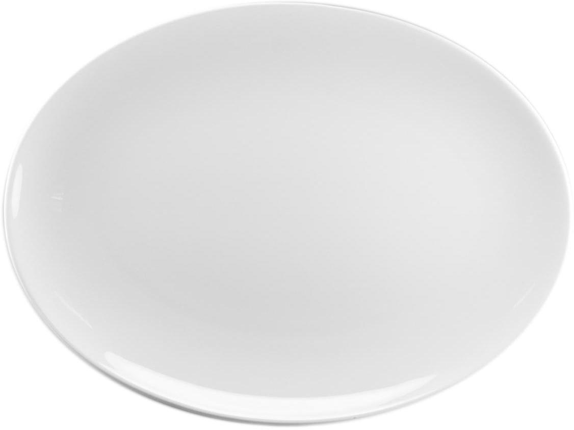 """Блюдо """"Narumi"""" станет прекрасным украшением праздничного стола.  Блюдо выполнено из высококачественного фарфора.  Посуда имеет оригинальные формы, которые выделяют его среди продукции других фабрик.  Изделие является оригинальным. После совершения примерно 70 ручных рабочих операций каждый предмет проходит процесс финального контроля, при котором особенно тщательно проверяется его качество как целого изделия.  Блюдо можно мыть в посудомоечной машине."""