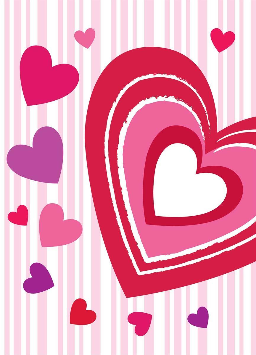 Пакет подарочный Eureka Сердечки и полоски, 18 x 23 x 10 см eureka короткое платье