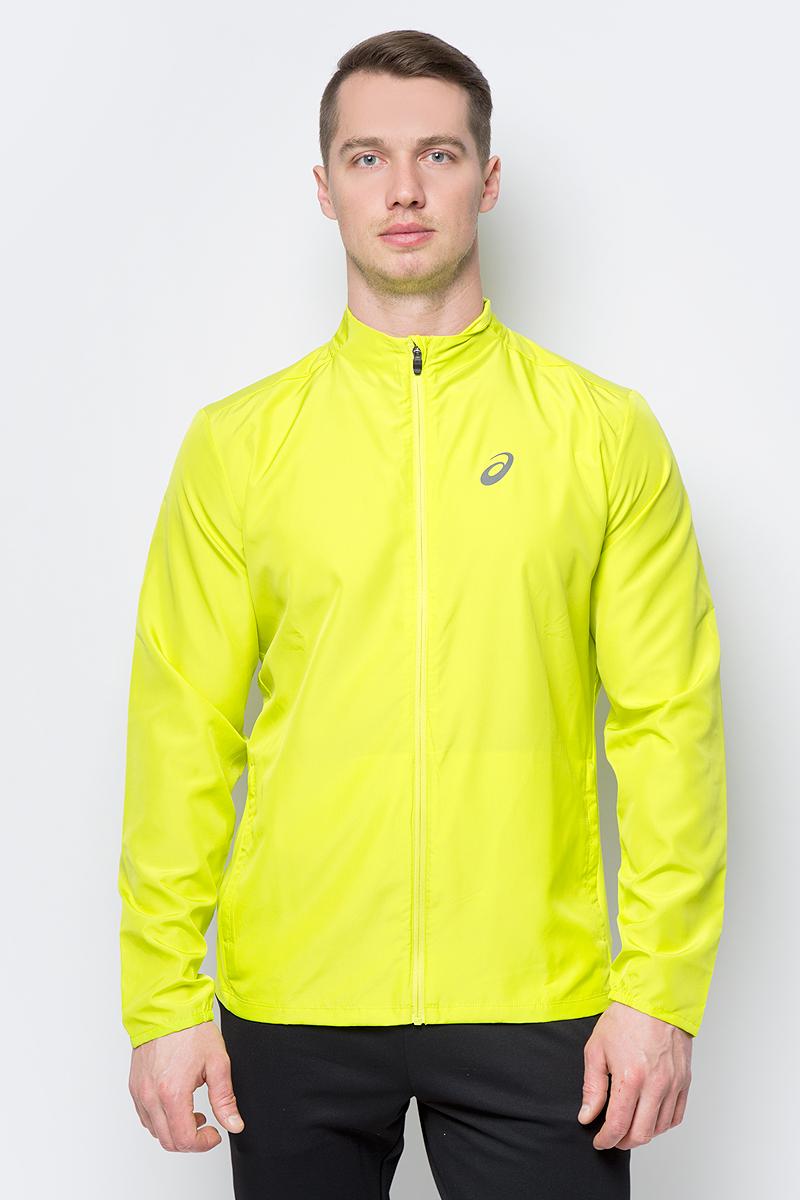Ветровка мужская Asics Jacket, цвет: желтый. 134091-0480. Размер M (46) точка доступа ubiquiti uap unifi ap