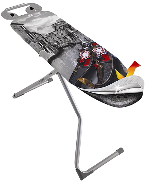 Доска гладильная HITT Skyboard 120 х 38 см доска гладильная hitt skyboard 120 х 38 см