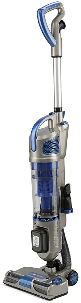 Kitfort КТ-521-2, Blue вертикальный пылесосКТ-521-2Вертикальный беспроводной пылесос Kitfort КТ-521-2 удобен при локальной игенеральной уборке. Он обладает высокой мощностью и современнымстильным дизайном. Благодаря работе от аккумулятора не нужно включатьвилку в розетку, провода не мешаются под ногами, и вы можете использоватьпылесос там, где нет электричества, например, в салоне автомобиля или вдачной беседке.