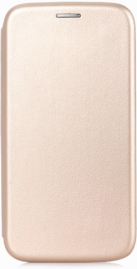Vili Neo A0307-105977 чехол для Samsung Galaxy J2 (2018), GoldA0307-105977Материал верха выполнен из гладкой экокожи, внутри - алькантара, ложемент из термопластика, имеет все необходимые технические отверстия. Есть карман для хранения пластиковых карт. В корпус вшиты 4 магнита, которые удерживают чехол в закрытом состоянии. Трансформируется в удобную подставку для просмотра видео.