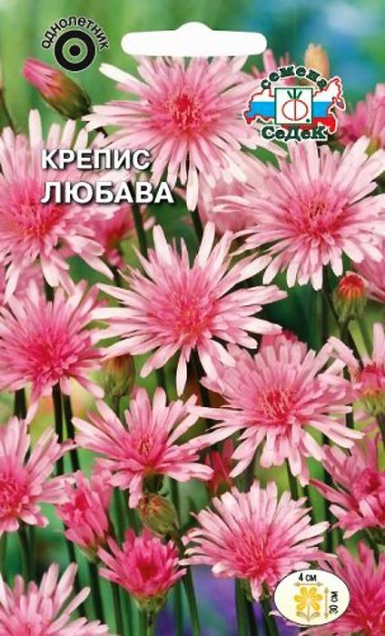 Семена Седек Крепсис. Любава4607116264751Нарядное прямостоячее растение с эффектными ярко-розовыми соцветиями, диаметром 4 см, на прочных цветоносах. После отцветания образуются густые пучки с мягкими волосками. Растение неприхотливое, хорошо растет на легких почвах, на солнечных местах и в полутени. Не любит переувлажнения. Используется для оформления миксбордеров, рабаток, альпинариев и каменистых горок.