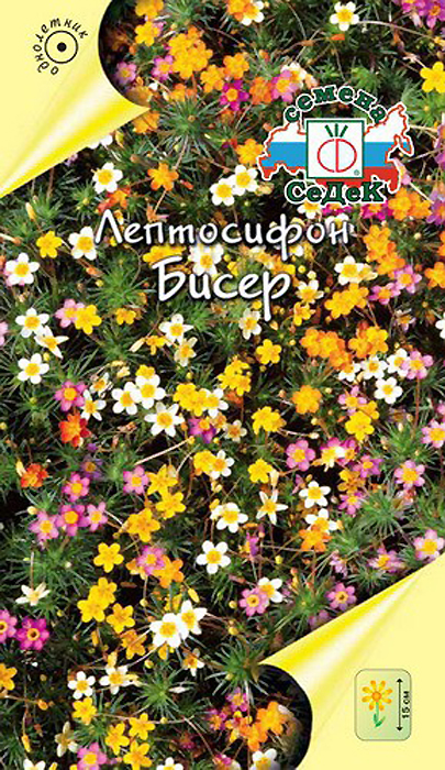 Семена Седек Лептосифон гибридный. Бисер4607116264911Необычное, очень красивое почвопокровное растение с игольчатыми листьями и обилием мелких цветов разнообразной окраски на тончайших цветоносах. Быстро разрастается, образуя настоящие заросли. Светолюбиво, прекрасно растет на легких, каменистых почвах. Используется для оформления каменистых горок, бордюров, ковровых клумб. Количество семян: 0,2 гр.