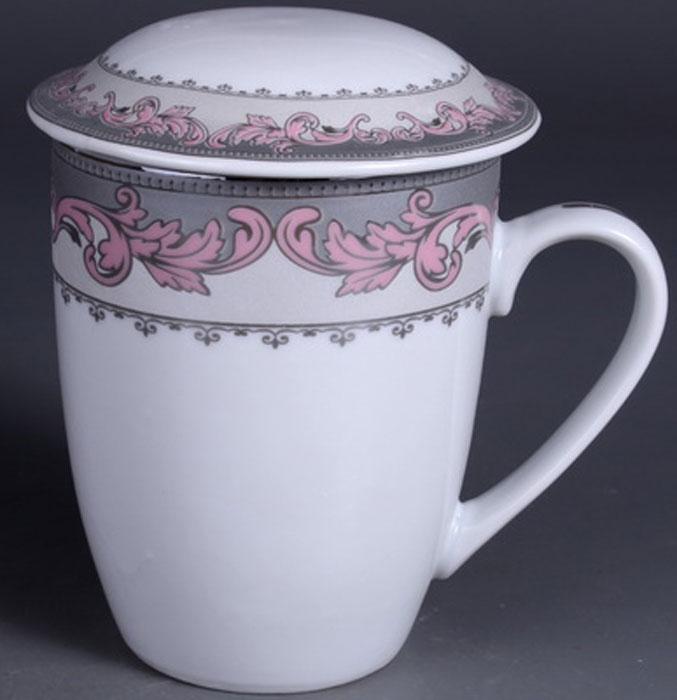 """Заварочная кружка Olaff """"Mug Cover"""" изготовлена из фарфора. Изделие оснащено крышкой и металлическим ситечком. Благодаря  ситечку вы сможете заваривать чай непосредственно в кружке. Крышка дольше сохранит ваш напиток горячим.  Кружка сочетает в себе оригинальный дизайн и функциональность. Благодаря такой кружке пить напитки будет еще вкуснее. Кружка Olaff """"Mug Cover"""" согреет вас долгими холодными вечерами.   Объем кружки: 350 мл."""