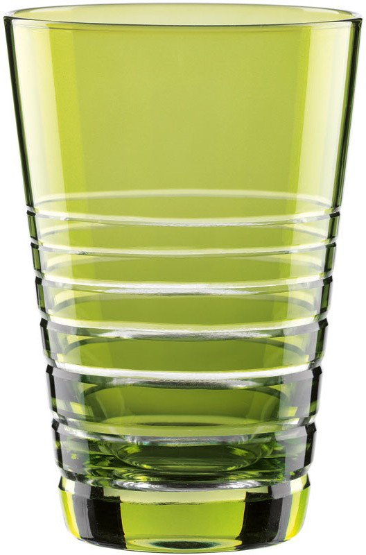 """Набор Nachtmann """"Sixties Rondo. Kiwi"""", выполненный из цветного бессвинцового хрусталя с  геометрическим узором, состоит из двух высоких стаканов яркой барной коллекции Sixties Rondo.  Рельефная поверхность стакана приятно ощущается в руке. Такой набор подойдет и для  каждодневного использования и украсит праздничный стол."""